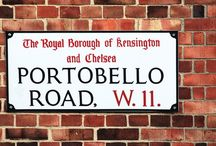 Notting Hill / For the next two weeks we are going to in a pop up at 201 Portobello road and wanted to mark this occasion with a Pinterest board of all things we love about Notting Hill.
