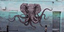 Street Art / Inspiration for London Street Art animated project -- coming in 2017.