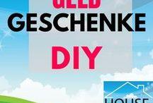 Geldgeschenke DIY / To gift money makes more fun when you do it the creative way.