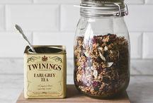 Tea & C° ⓥ / Du THÉ à boire + à manger {when tea pairs with food} 100% VEGAN