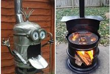 Fabulous Fire Pits / A selection of great fire pits to buy or build for your garden.
