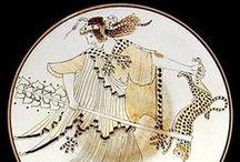 Greek White Ground Ceramic Ware