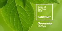 Pantone Colour Of The Year 2017: Greenery / Get ready to refresh your home this New Year with Pantone's Colour Of The Year- Greenery! We've got inspiration on tap...