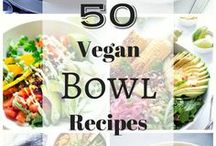 All-Iɴ-Oɴe ⓥ / VEGAN ROUND UP RECIPES. Drinks, Frozen Treats, Sweets, Savory Dishes, Homemade, etc...