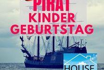 Kindergeburtstag Pirat / Die besten Ideen für den gelungenen Kinder Geburtstag unter dem Motto Pirat.
