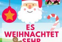 Weihnachten / Die besten Ideen und DIY zur schönsten Jahreszeit: Weihnachten, XMAS, das Christfest. Wenn das Christkind kommt wollen wir es mit tollen Dekorationen, Rezepten zur Weihnachtszeit und tollen Geschenkideen überraschen!