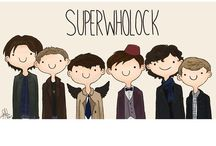 Superwholock / Supernatural, Doctor Who, and Sherlock / by Anna Hill