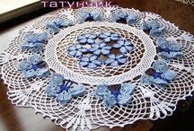 Crochet for the Tables / Tablecloths,Coasters,Doilies,Etc. / by Lynn Courtois
