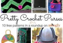 Crochet Bags, IPad covers,Tablet Covers,Etc. / Coin purses, Pocketbooks, Grocery, Bags,etc.