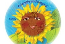 Daisy Girl Scout Yellow Petal -- Friendly and Helpful Petal / Helpful ideas for earning your Daisy Girl Scout friendly and helpful petal -- yellow Sunny, the sunflower, petal.