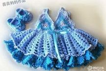 Crochet Baby and Child Clothing / Dresses,Pants,Onies, Etc.