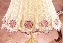 Crochet Home Decore / Curtains,Lampshades,Chair Covers,Etc.