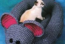 Crocheted stuff for pets