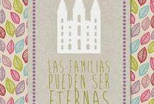Primaria 2014 | Las Familias pueden ser Eternas / LDS Primary 2014 | Families are Forever / by Los Colores de Nuestra Primaria