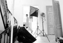 Behind the scenes.... photoshoots / Zaken die normaal niet zichtbaar zijn....bij www.sandervaneyck.nl