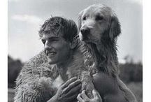 Men with cute dogs....or cute men with... / Adorable but manly pets