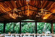 Inspiration: Wedding Lighting / Lighting confirgurations we love! Perfect for lighting your reception in Costa Rica