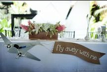 Travel-themed Wedding / Get inspired by the designs of Four Winds Weddings & Events.