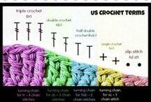 crochet stitches and techniques