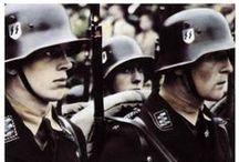 SS ou La Schutzstaffel (de l'allemand « escadron de protection » PLEASE DON'T RAID / Histoire et uniformes / by Légion