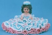 Crocheted Bed Dolls
