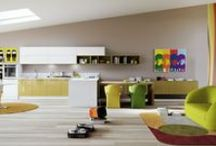 Cucine Moderne - Vecchie Collezioni / DIVA - GIOVE - AURORA - LINEA - ONDA - PETRA - STELLA - WOOD - YOUNG