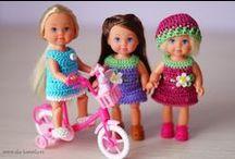 Šatky pre bábiky