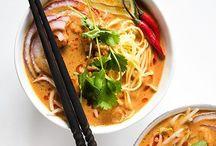 -Asiatisk mat-