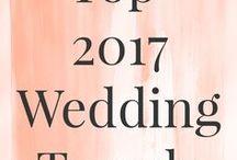 Wedding trends 2017 / Bekijk de 2017 trends op het gebied van trouwen.