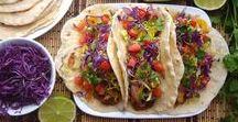 Taco, Wrap, Spring rolls
