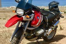 La Peliroja BMW  r1100 GS