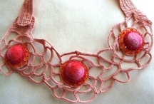 crochet inspiration ( jewelry )