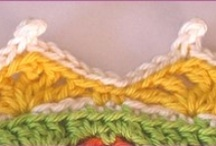 crochet stitches/edgings/borders