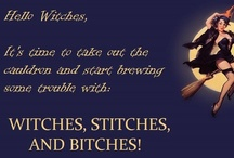 Witches, Stitches, and Bitches (Inspiration) / This a board featuring inspirational art and photos for the anthology, Witches, Stitches, and Bitches set to release in September 2013.