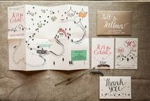 Wedding Branding / Wedding stationery and branding design.
