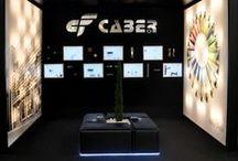 Estands de Caber Ferreteria para la Fira de Girona / Estands realizados por Caber Ferreteria para promocionar sus productos en la Fira de Girona.