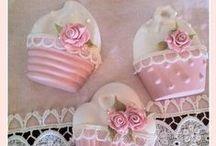 °‿•✿ Crafts: gesso, silicone ... / Spazio alla fantasia con gessi, stampi e pasta siliconica...