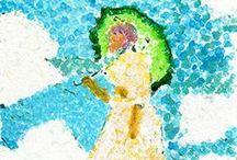 °‿•✿ Arte: come gli artisti... / ...idee e modelli per disegnare come gli artisti...