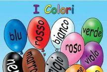 °‿•✿ Italiano L2 / Materiale per insegnare e imparare l'italiano.