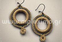 my crochet: rings/earrings