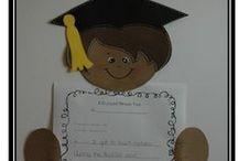 °‿•✿ Fine anno - diplomi / Idee per concludere l'anno: attestati, lavoretti, disegni...