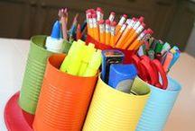 °‿•✿ organizzazione aula e materiale / Idee per l'organizzazione dell'aula