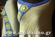 my crochet: shawls - ponchos