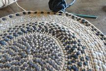crochet mandalas/rugs etc
