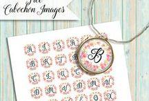 °‿•✿ Lettere creative / Alfabeti creativi per realizzare idee...