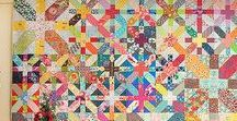 Quilts with X's / A board where I store quilt tutorials, patterns, and inspiration for quilts made with X's, crosses, pluses, and plaids.