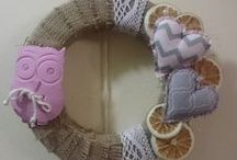 Peloma's Wreaths... / This board have my own creations with wreaths