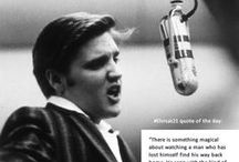 """Elvis at 21"" Trivia & Quotes / The ""Elvis at 21: Photographs by Alfred Wertheimer"" exhibition includes a lively social media community. Our Facebook presence isn't just photos, it's a little bit of everything--Elvis trivia, quotes, word puzzles, lyric games, and more.  / by SITES Exhibits"