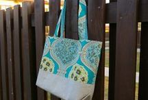 sewing free tote bag wallet / by Norwegianmittens