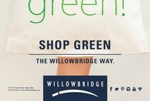 Shop Green / Organic Products & Eco-friendly ideas for you & your family available at Willowbridge